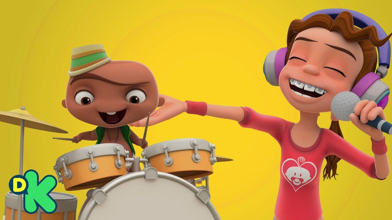 A cantar con las voces más divertidas | Mini Beat Power Rockers | Discovery Kids