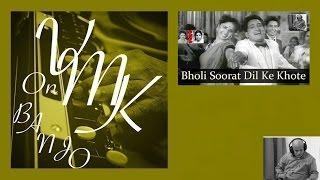 Bholi Surat Dil Ke Khote Hindi Instrumental Karaoke Duet Cover on Duel Banjo Bulbul Tarang