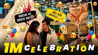 ROMANTIC SURPRISE FOR SURBHI🙈❤️ || 1 MILLION SPECIAL VLOG 🔥 || MOHAK NARANG