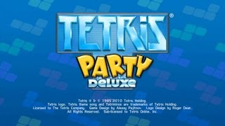 Tetris Party Deluxe Wii Gameplay
