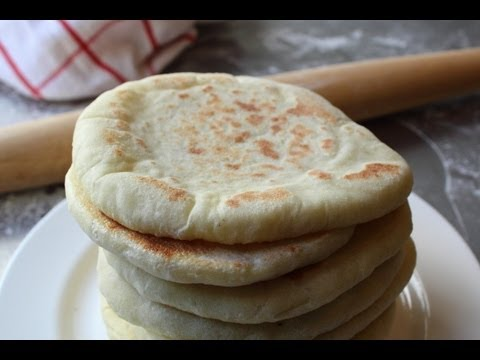 Pita Bread - How to Make Pita Bread at...