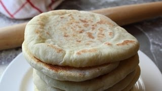 Pita Bread - How To Make Pita Bread At Home - Grilled Flatbread