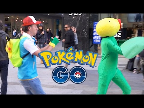 #PokemonGo In Real Life!!