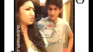 exclusive video saif s son ibrahim khan back with srk s k3g dubsmash