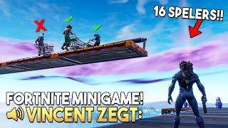 VINCENT ZEGT 7.0 *MET 16 SPELERS* - Fortnite Creative (Nederlands)