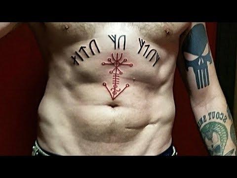 2 New Viking Tattoos - Runes & Galdrastafir