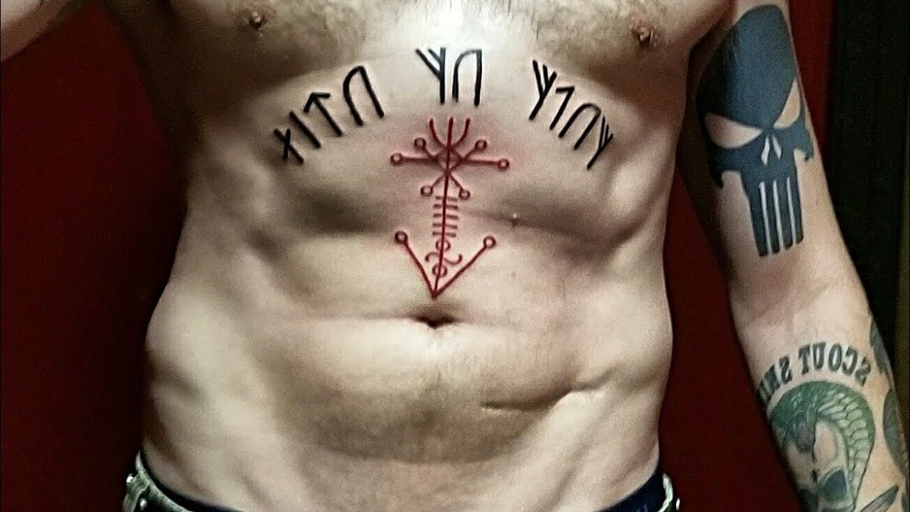 2 new viking tattoos runes galdrastafir youtube. Black Bedroom Furniture Sets. Home Design Ideas