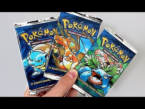 The Best HEAVY BASE SET Pokemon Booster Pack Opening Ever