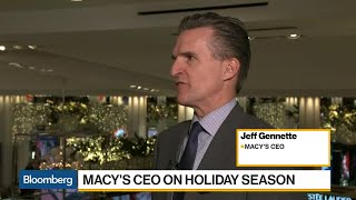 Macy's CEO Gennette on Black Friday, Real Estate