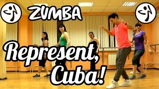 ТАНЦЫ - ВИДЕО УРОКИ ОНЛАЙН - REPRESENT CUBA - DanceFit #ТАНЦЫ #ЗУМБА