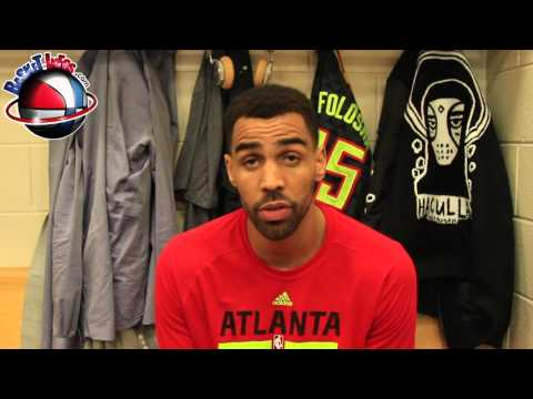 Interview Thabo Sefolosha - Atlanta Hawks - 3/02/2015