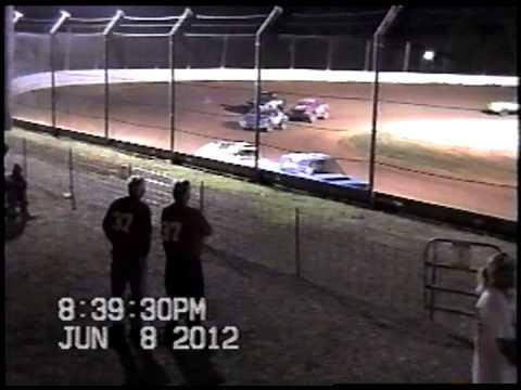 Doe Run Raceway Mini Stock Heat-June 8,2012