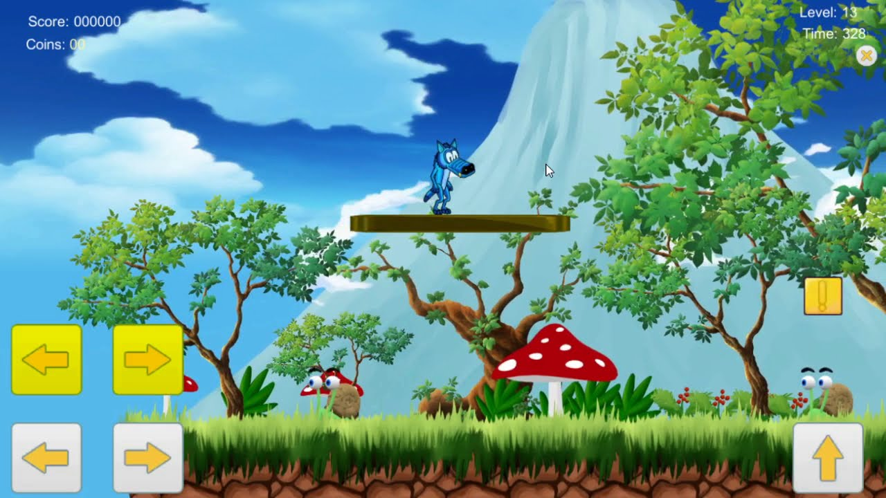 Classic Mobile Platform Game: What Do You Think About Our Game?