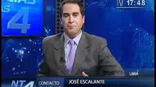 PLANTONES SINAUT SUNAT 12-04-2012 : Canal N entrevista al Procurador