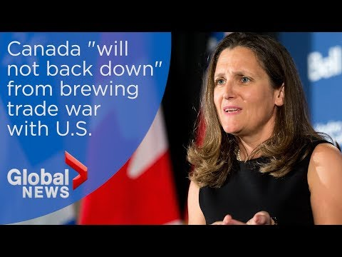 Canada announces $16.6B in duties on American goods as trade war grows