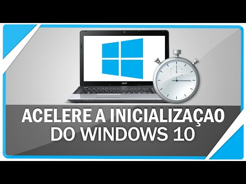 Como iniciar o Windows 10 mais rápido