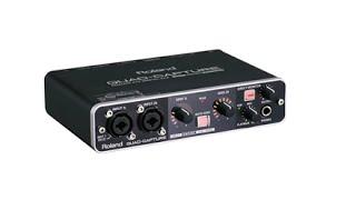 полный обзор и тест аудиоинтерфейса ROLAND QUAD CAPTURE-UA55