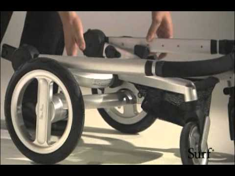 Silver Cross Surf Pram Demonstration Youtube
