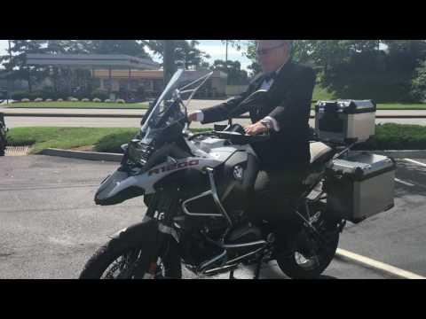 """Jay """"Bond"""" Gwaldis 2016 BMW R1200GSA delivery 2"""