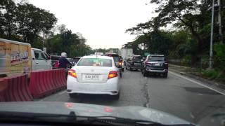 Philippines, Quezon City, Uber ride from Philippine Children Hospital to Sandiganbayan