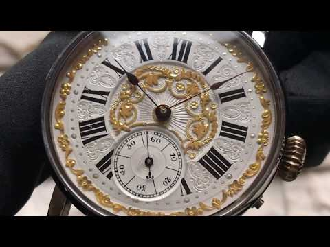 Paul Jeannot, Geneve. Переделка из карманных часов.