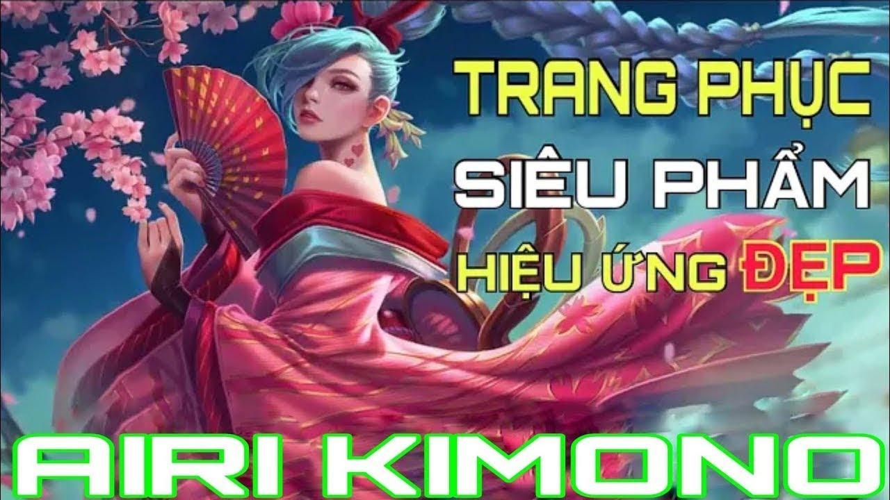 Quẩy Airi Kimono Cùng SMG Liang