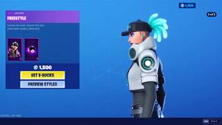 NEW fortnite item shop FREESTYLE (Should you get it?)
