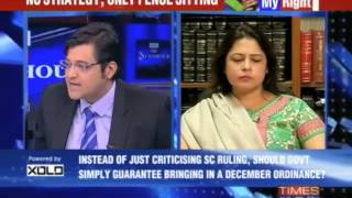Why is arnab goswami angry?