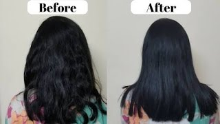 How to get shiny, glossy and smooth hair -DIY Hairspa at home (Beauty Blogger)