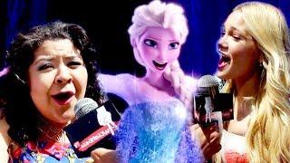 Disney Stars sing LET IT GO at Radio Disney Music Awards 2014