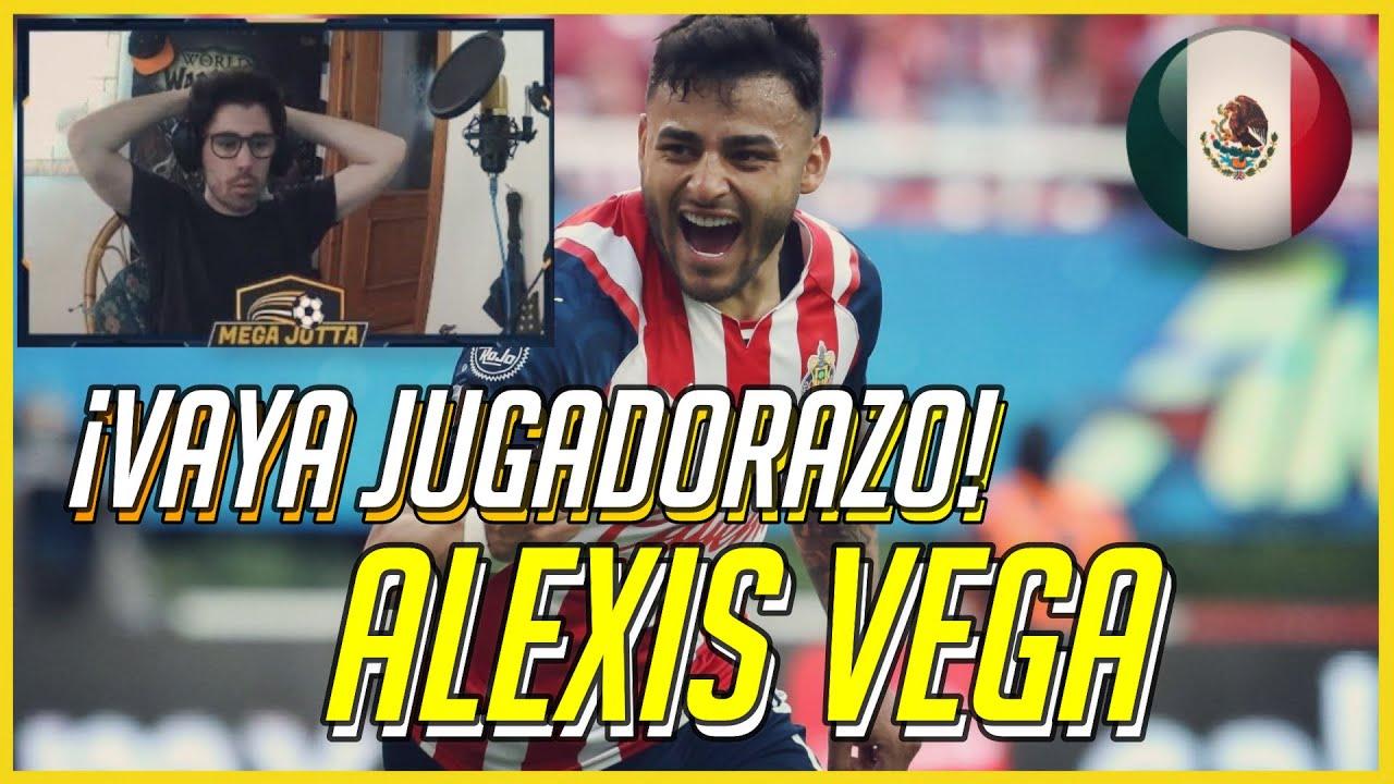 🔥 ESPAÑOL REACCIONANDO a ALEXIS VEGA (Delantero de CHIVAS)