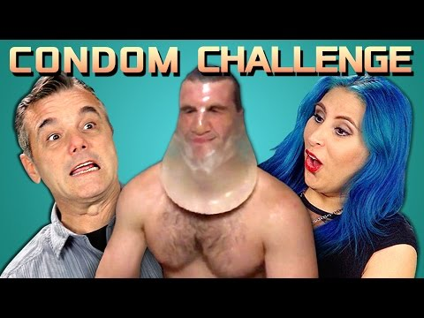 ADULTS REACT TO CONDOM CHALLENGE