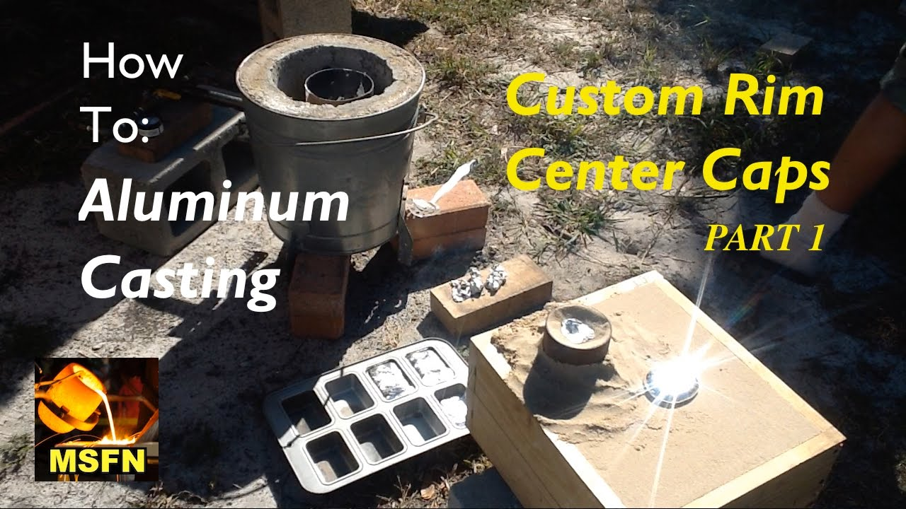 Diy Aluminum Casting Custom Rim Center Caps P1 Msfn