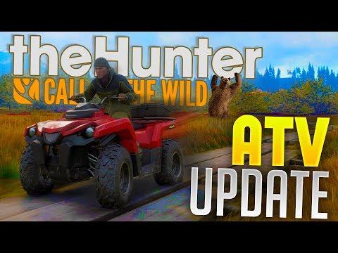 The Hunter Call Of The Wild - ATV DLC Gameplay - Black Bear Attack! - The Hunter Gameplay
