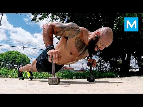 PUSH the LIMITS with U.S. Marine Veteran Jose Luis Sanchez | Muscle Madness