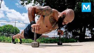 PUSH the LIMITS with U.S. Marine Veteran Jose Luis Sanchez   Muscle Madness