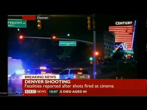 """BREAKING NEWS: DENVER """"AURORA SHOOTING"""" UPTO 50 WOUNDED 12 KILLED AT THE BATMAN PREMIER"""