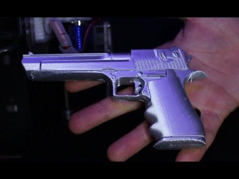 3D Printer Pistol Printing - Aluminum Alloy Special Filament