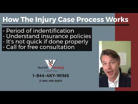 How Does The Personal Injury Process Work? | McCoy and Sparks Attorneys at Law