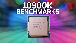 Intel Core i9-10900K Review: OVERCLOCKING & BENCHMARKS vs 3950X + 3900X!