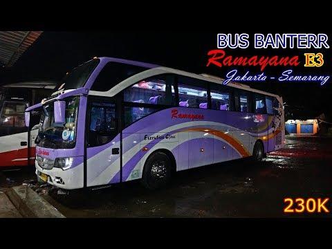 Benar-Benar Tak Terduga!. Bus Solar Jatah Wani Banterrr Juooss.  Trip by Ramayana E3 Jakarta - Bawen