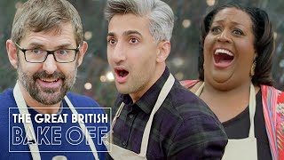 Amazing Celeb Bake Off disasters & triumphs ft. Alison Hammond, Tan France, Louis Theroux & more!