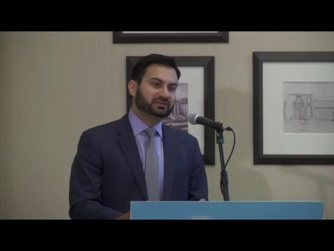 2016 Symposium America's Water: Innovation at Work Keynote Speaker - Ali Zaidi
