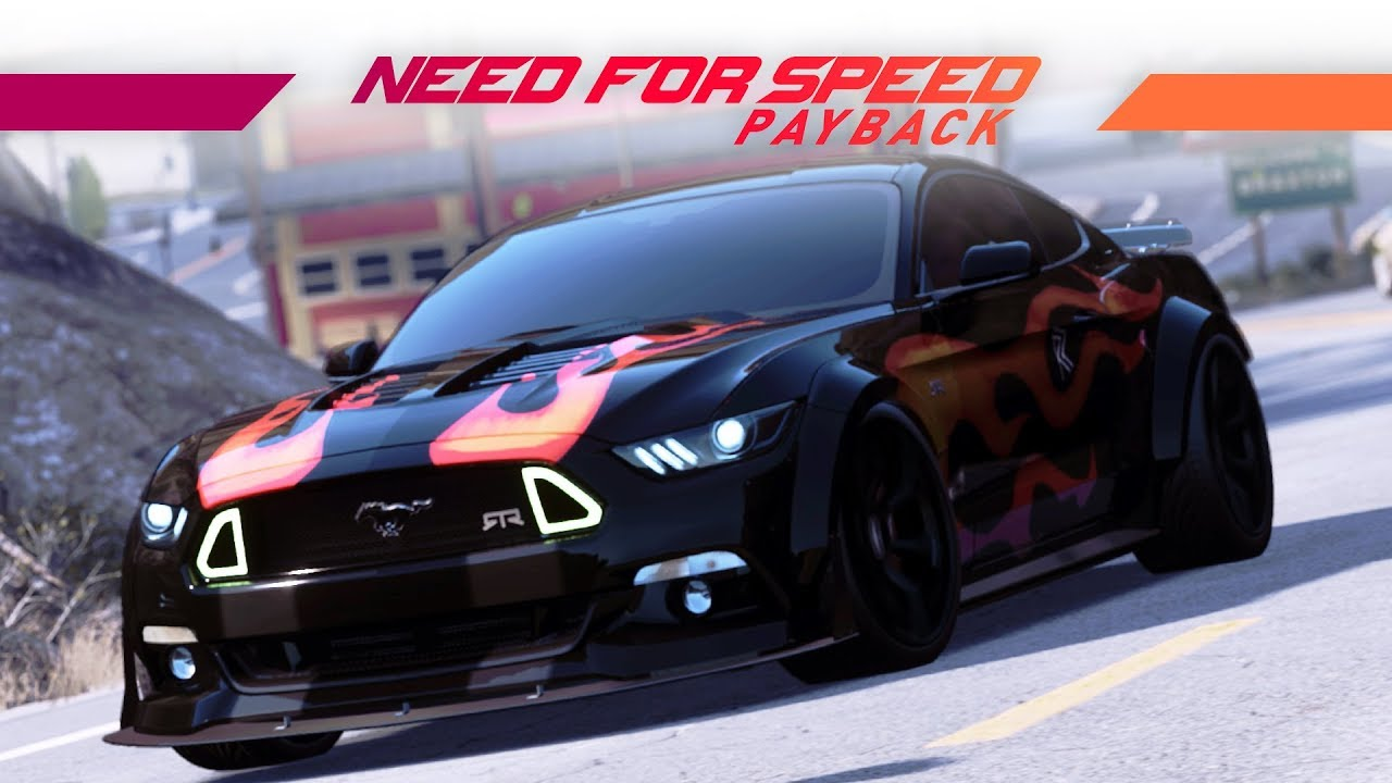 Ford Mustang Gt Need For Speed Payback Ford Mustang 2019