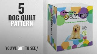 "Top 5 Dog Quilt Pattern [2018 Best Sellers]: Best Pet Supplies 50 Piece 36 x 28"" Puppy Training Pad,"