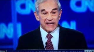 Ron Paul on Taxes & 16th Amendment CNN Debate 1/26/12