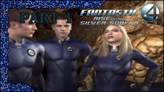 Fantastic 4: Rise of the Silver Surfer (PS2) - Part 1: Beat