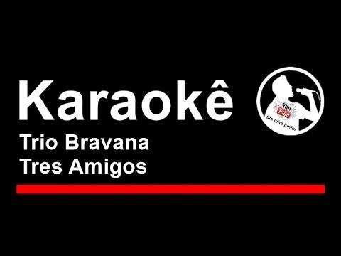 Trio Bravana  Tres Amigos Karaoke