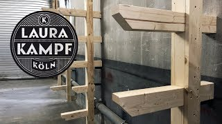 Heavy Duty Workshop Shelves / Lumber Rack