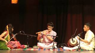 Carnatic Flute: Bantureethi Kolu - Hamsanatham - Adi